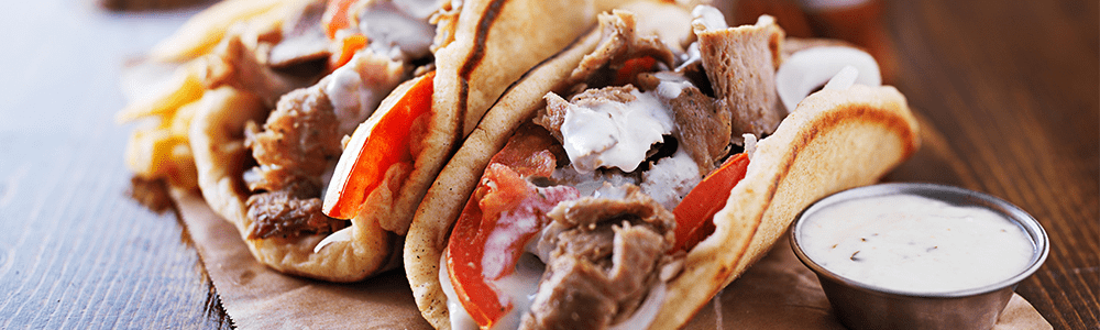 Finger food i gyros