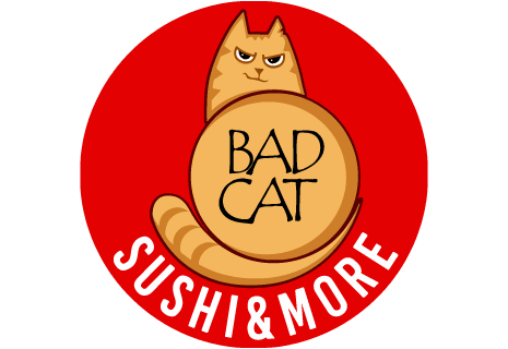 logo Bad Cat Sushi & More