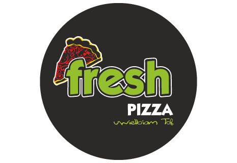 logo Fresh Pizza Winogrady Nocą