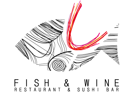 logo Fish & Wine Restaurant & Sushi Bar