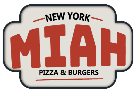 logo New York Miah Pizza & Burgers